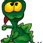 Green Dragon — Stock Vector #2889906