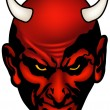 Devil Head — Stock Vector