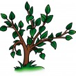 Small Deciduous Tree — Stockvector #2905547