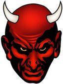 Devil Head — Stock Vector