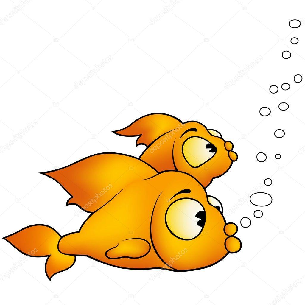 Two Golden Fish — Stock Vector © dero2010 #2905347