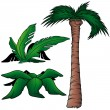 Stock Vector: Palms
