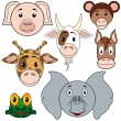 Animal Baby Set 2 — Stock Vector