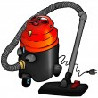 Stock Vector: Vacuum Cleaner