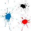 Ink Splats - Stock Vector