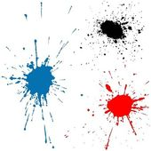 Ink Splats — Stock Vector