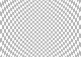 Spherical Checkered Background — Stock Vector