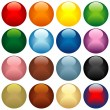 Colored Glass Spheres — Stock Vector #3069049