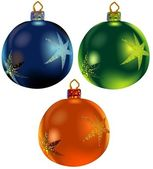 Christmas Balls — Vetorial Stock