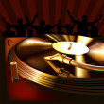 DJ Mix Panel — Stock Vector