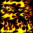 Stock Vector: Flames