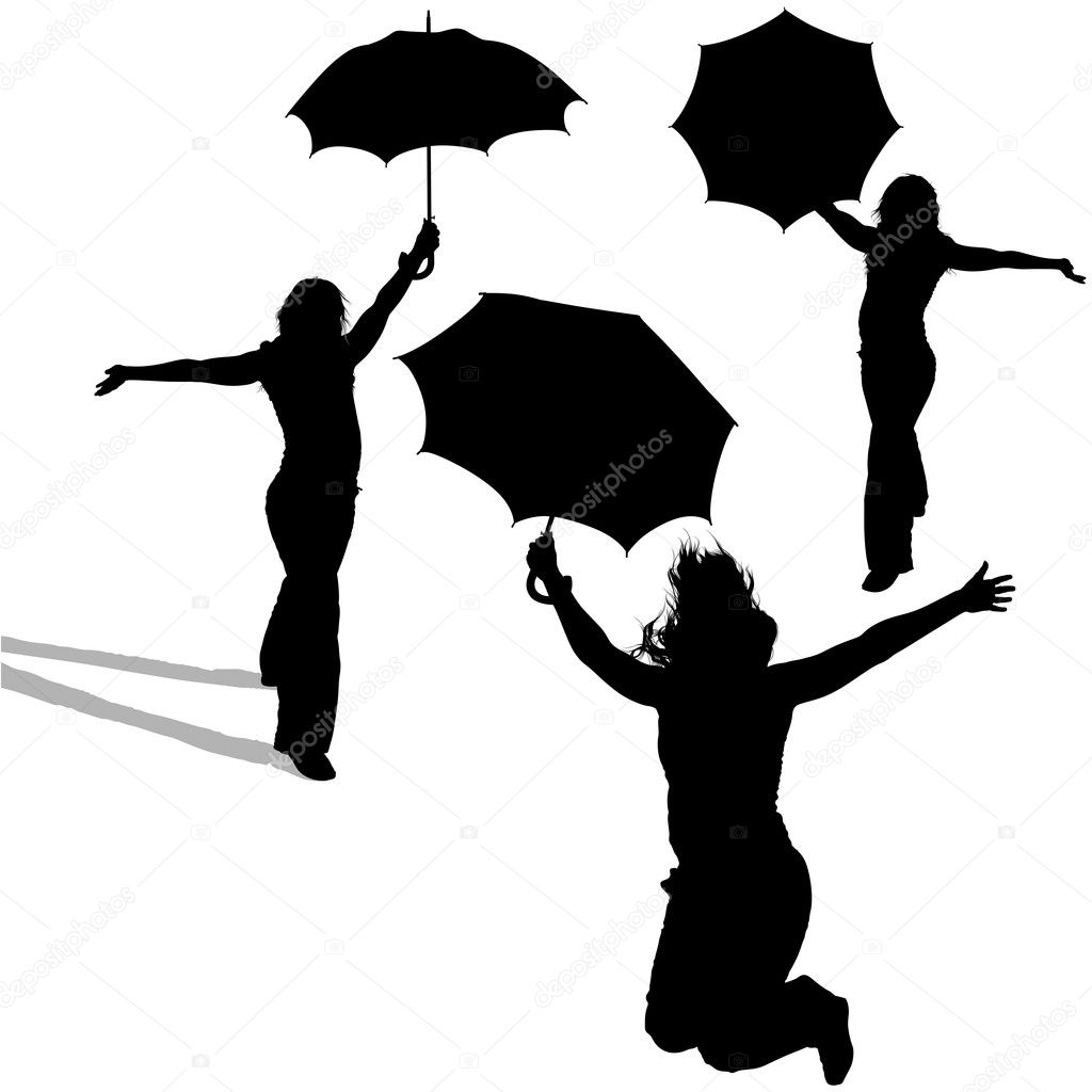 Girl umbrella rain Illustrations and Clip Art. 431 girl umbrella