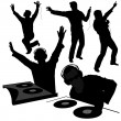 Royalty-Free Stock Vector Image: Disk Jockey