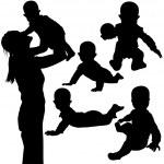 Baby Games — Stock Vector #3120666