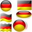 Flags Germany — Stock Vector
