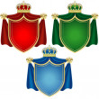 Coat of Arms Banners - Stock Vector