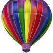 Hot Air Balloon — Vector de stock #3163547