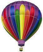 Hete luchtballon — Stockvector