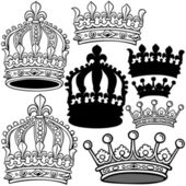 Royal Crown — Stock Vector