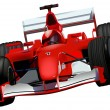 F1 Race Car - Stock Vector