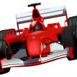 Royalty-Free Stock Imagem Vetorial: F1 Race Car