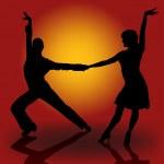 Постер, плакат: Latino Dancers