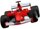 F1 Race Car — Stock Vector