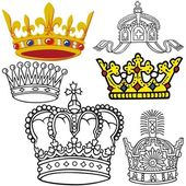 Royal Crown — Stock Vector