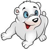 Lední medvěd — Stock vektor