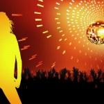 Disco Dance Party — Stock Vector