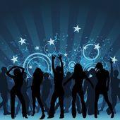 Clubbing — Stock Vector