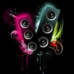 Vector speaker art — Stock Vector #3026404