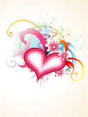 Arte vettoriale cuore — Vettoriale Stock