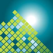 Vektor mosaik mönster design — Stockvektor