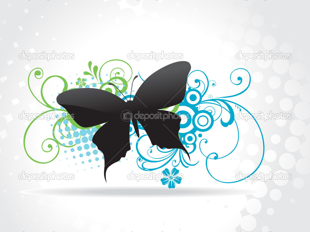 Beautiful butterfly vector art — Stock Vector #3173629