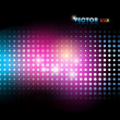 Colorful lights background — Stock Vector