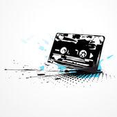 Vector cassette — Stock Vector