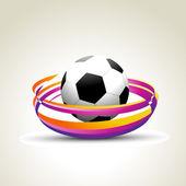 Vector football — Stock Vector