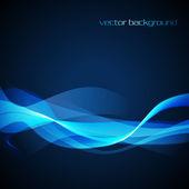 Vector neon wave — Stock Vector