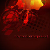 Artistic stylish vector background — Stock Vector