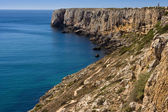 Rock van de algarve - kust in portugal — Stockfoto
