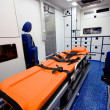 Foto Stock: Ambulance Interior
