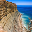 Algarve rock - coast in Portugal — Stock Photo