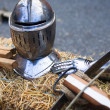 Iron knight armature — Stock Photo #2960600