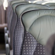 Empty bus seats — Stock Photo