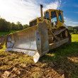 Bulldozer - Stockfoto