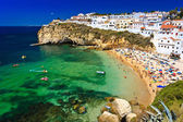 Algarve rock - coast in Portugal — Foto de Stock