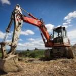 Bulldozer in action — Stock Photo #3010469