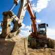 Stock Photo: Bulldozer in action