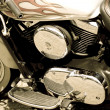 Glamor motorcycle — Stock Photo #3011033